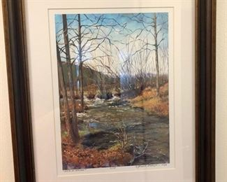 Print of early spring in Colorado 2 of 175