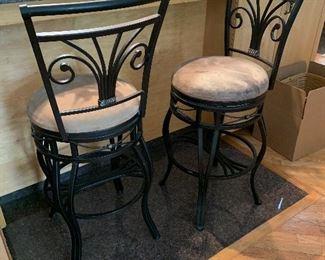 Sturdy bar height stools