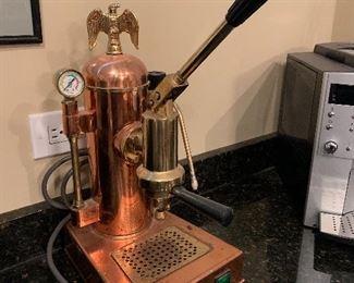 Riviera espresso machine made in Italy