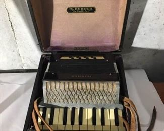 Antique Mini Accordion