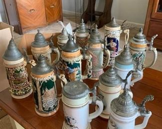Beer Steins Made in Germany I