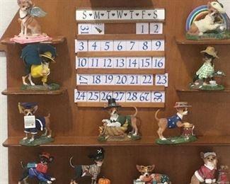 F7 Danbury Mint Dog Calendar $180