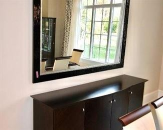 Made in Italy Constantini Pietro Contempory Buffet Table. $1350 Mirror Not For Sale