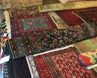 Lots and Lots of rugs!