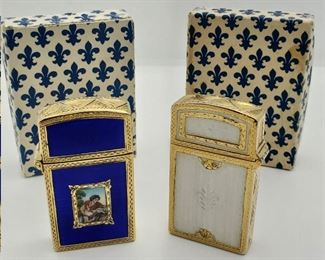 AA Guilloche Lighters