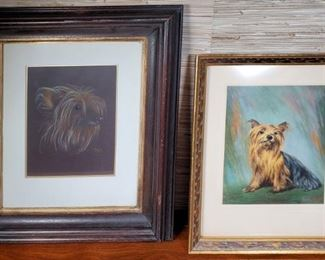 Art Dog Portraits