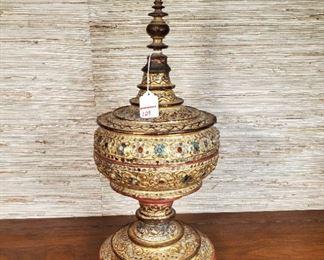 Art Ethnic Thai Temple Box