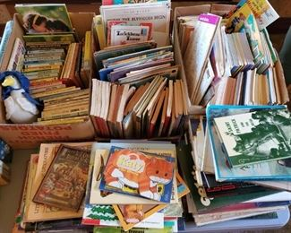 Many childrens books
