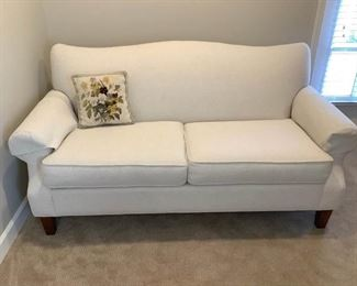 Cream Colored Sofa Looks Brand New
