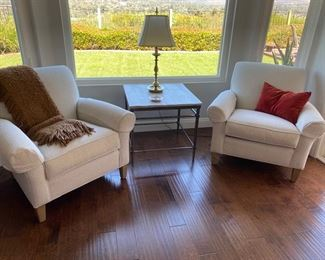 ETHAN ALLEN PAIR OF CHAIRS $495