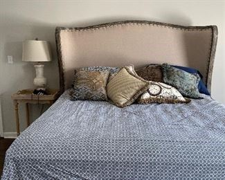 Ornate King size bed $500