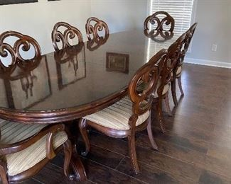 Formal Dining Table (Seating for 8) $600
