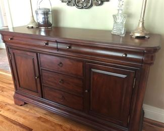 Matching sideboard