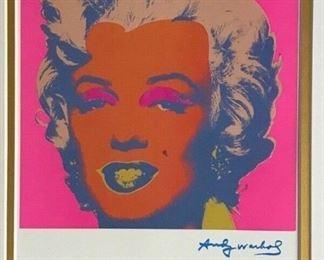 Andy Warhol, Marilyn Monroe, Framed