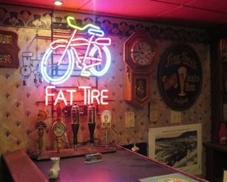 NEON FAT TIRE SIGN