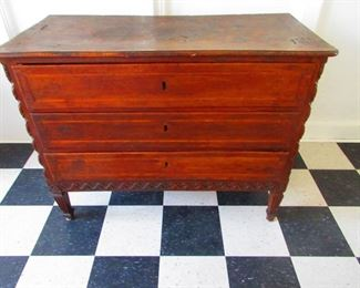 Late 17th-Early 18th Century Chest of Drawers $1,100.00