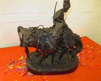 Evgenij Aleksandrovi Lansere Bronze Scuplture $2,500.00