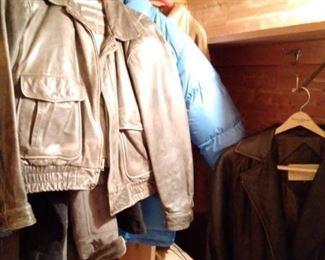 Nice leather jackets