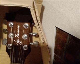 Beautiful signed guitar