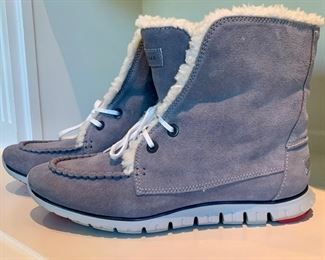 Price coming soon! Cole Haan Suede Zero Grand Waterproof Boots. Womens size 9.5.