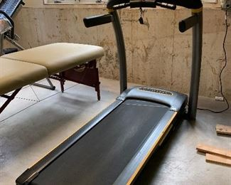 "$200- Livestrong LS7.9T treadmill.  Measures 72""L x 35""W x 61""H. You move!"