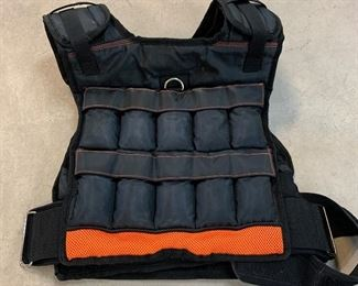 $30-Fitness gear weighted vest.