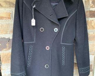 $100 - Cole Haan Wool/Cashmere Ladies Coat