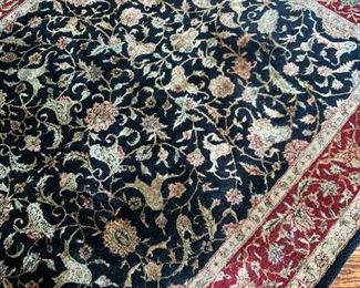 $120 - Knotted Wool Rug - Approx. 5.5' x 8.5' - Originally purchased for $500