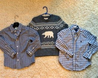 Large selection of boys clothing available to shop at the sale!