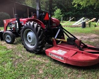 2003 Massey Ferguson 231S Tractor w/canopy. Less than 92 hours. Serviced 7/2020. Being sold with Bush Hog2346QT  front end loader and Bush Hog SQ600 mower