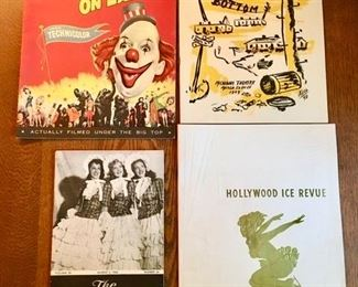Vintage 1950's-60's play books, Circus brochure is SOLD