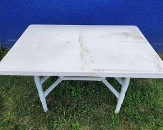 Rectangle Picnic Table with PVC legs48 x 32 x 29 Inches