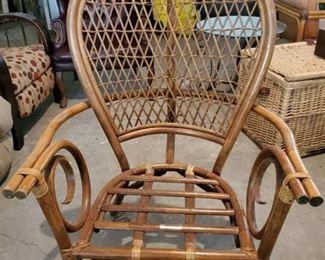 PT Sandi Furni Made in Indonesia Wicker Back Chair