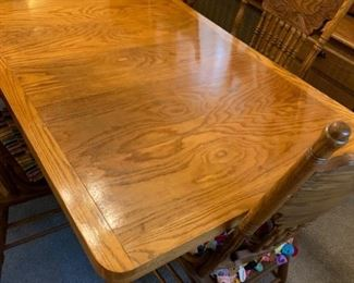 Handmade Solid Oak Dining Table