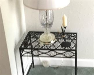 Nice little Metal Side Table