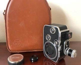 Bolex Paillard Camera W/ Case
