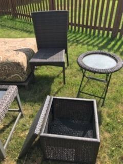 GORGEOUS SET OF OUTDOOR RATTAN/WICKER FURNITURE...SAVE THOUSANDS!