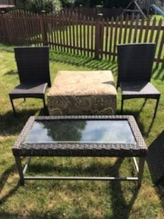 RATTAN FURNITURE MATCHING PIECES AVAILABLE!  BEAUTIFUL CONDITION!!!  SEE OTHER PHOTOS FOR MORE MATCHING PIECES!