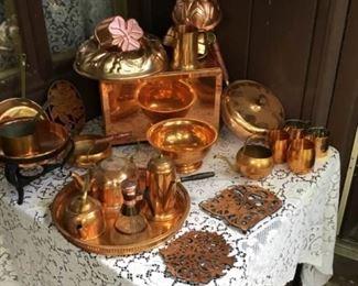 Retro Copper Kitchen Galore
