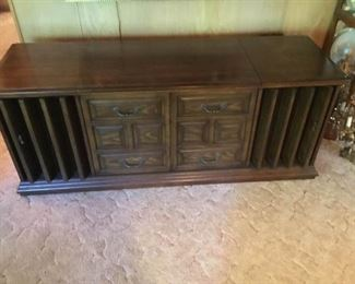 Zenith Vintage Stereo Cabinet
