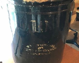 Antique 10 Gallon Crock