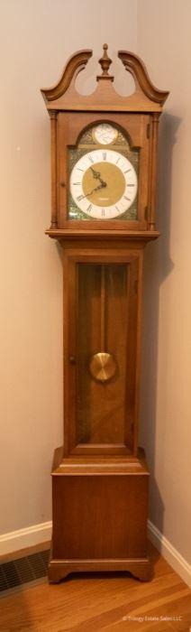 Seth Thomas Grandmother Clock  $125 14.25 x 8 x 73.5