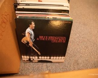 256 LPs in 60s, 70s, 80s rock, and jazz. 10 45s. $500 lot price. - OR - Albums LPs are $2 each; 45s are $1 each by appointment only. These are local pickup only.