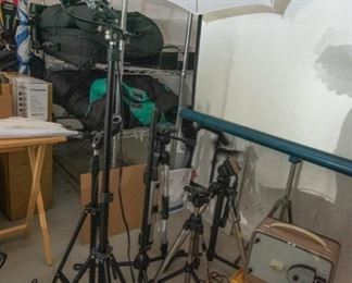 Lighting and video equipment