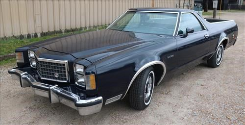 029a  1978 Ford Ranchero in great condition with new like tires, owner selling due to health reasons