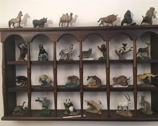 Franklin Mint Animal Figurines