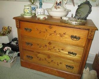 3-drawer chestnut dresser