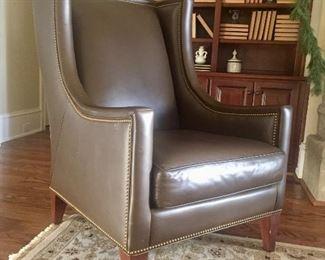 Hancock & Moore leather chair