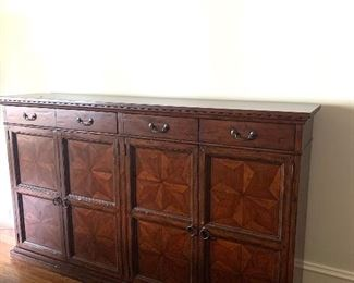 """6'5"""" wide by 45"""" tall cabinet"""