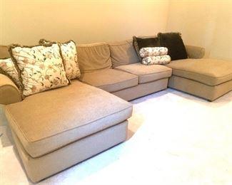 oversized U-shape sofa